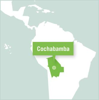 Projects Abroad volunteer placement location in Cochabamba, Bolivia