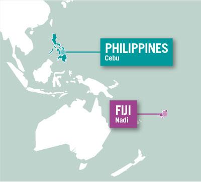 Projects Abroad is based in Cebu, Philippines and Nadi, Fiji