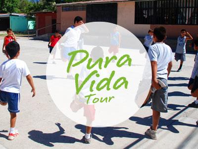 Options for combining projects working with youth in Costa Rica