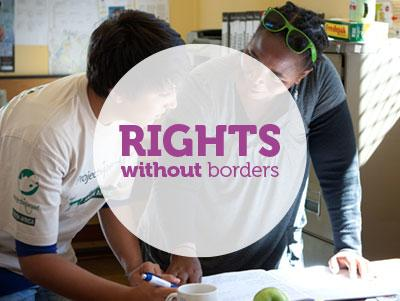 Options for combining international development and human rights projects in South Africa and Mexico