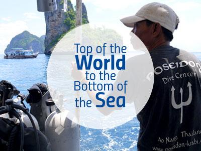 Options for combining mountain conservation and marine conservation projects in Nepal and Thailand