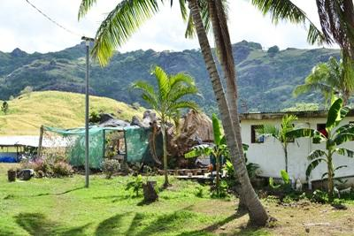 One of the Fijian villages where Projects Abroad volunteers work.