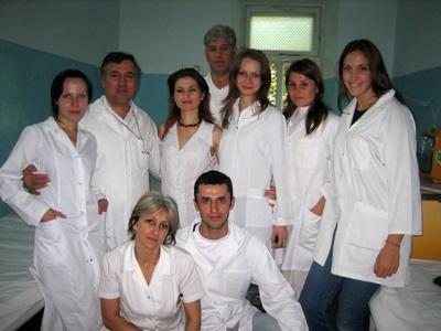 Staff on the Medicine project in Moldova, Europe