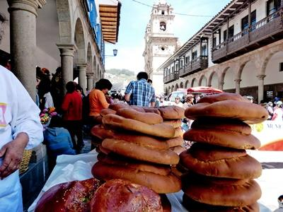 Brean sold in a local Peruvian market