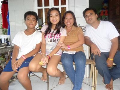 Projects Abroad host family in Cebu, Philippines