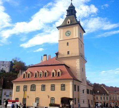 The city of Brasov, Romania