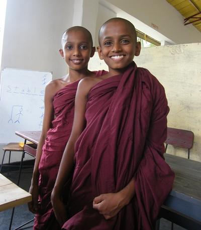 Sri Lankan monks in Asia.