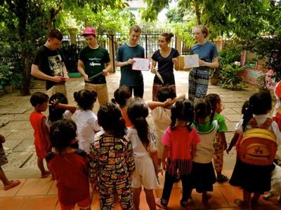 Children laughing at the Projects Abroad Care project placement in Thailand