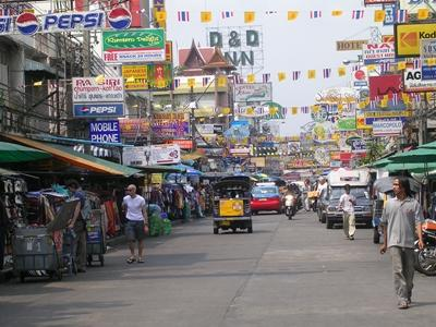 Street scene in our Thailand volunteer project placement