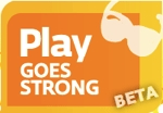 Play Goes Strong website logo
