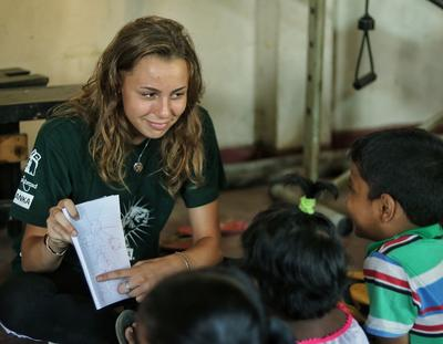 Teaching English in Sri Lanka is how this volunteer spent her gap year program