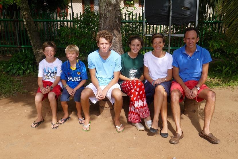 The De Bono family.