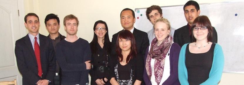 International Business Internship volunteers overseas with Projects Aboard