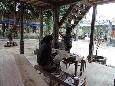 Volontaires au Vietnam