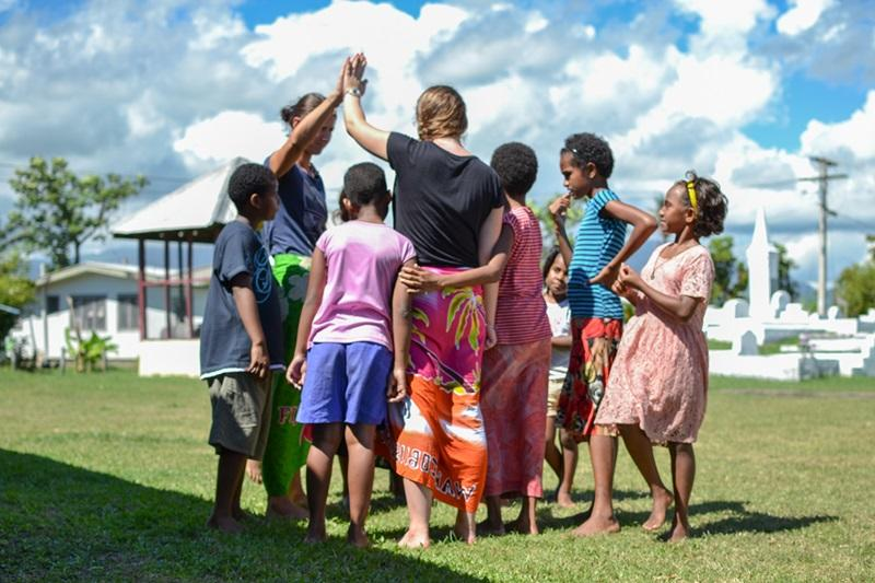 Volunteer With Children In Fiji Projects Abroad