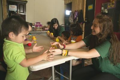 Volunteer abroad at a care center with Projects Abroad.