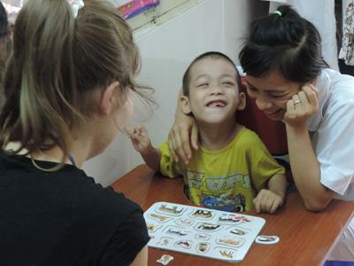 Volunteer Abroad with Children with Special Needs in Vietnam