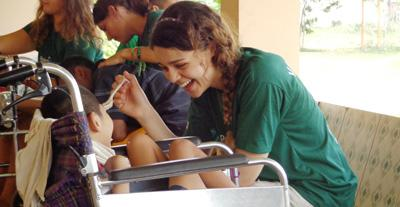 Work with Special Needs individuals in Cambodia