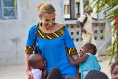 Volunteer doing Care work abroad at an orphanage in Africa