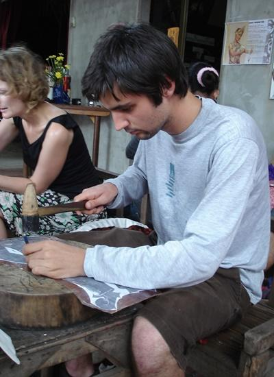 Volunteer on the Khmer Culture & Community Project in Cambodia