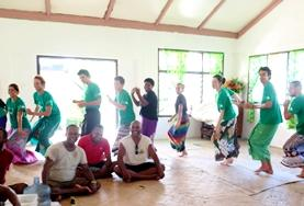 Volunteers on the Culture & Community project in Fiji get immersed in the local community
