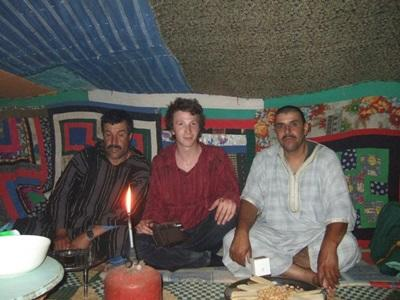 Volunteer in Morocco immersed in Nomadic culture of Morocco