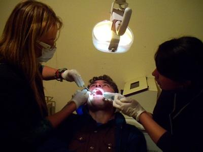 Dentistry Electives do a cleaning in a clinic in Argentina with Projects Abroad
