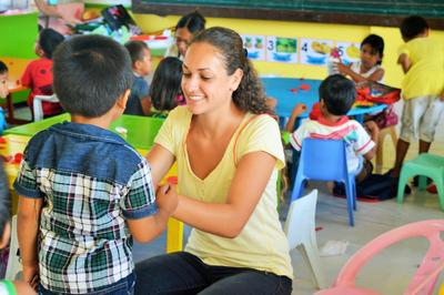 Encourage early childhood development in the Philippines as a Care & Community teen volunteer