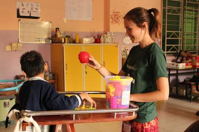 A: Learn about treating various conditions on the High School Special Physical Therapy Project in the Philippines.