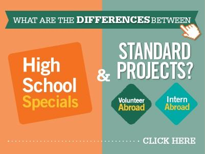 Differences between High School Specials and Standard Projects