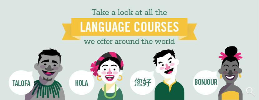 Learn foreign languages abroad on a Language Course with Projects Abroad
