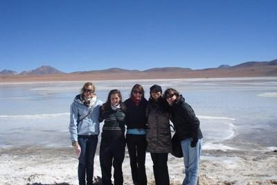 Volunteers traveling to see snow in Bolivia with Projects Abroad
