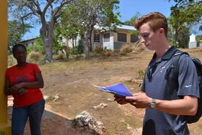 Projects Abroad Human Rights intern helps start a parenting patrol system in communities in Jamaica