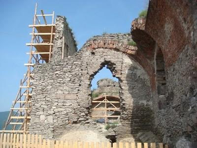 Historical structure on an Archaeological site in Romania