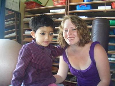 Volunteer on the Occupational Therapy Project in Nepal with Children