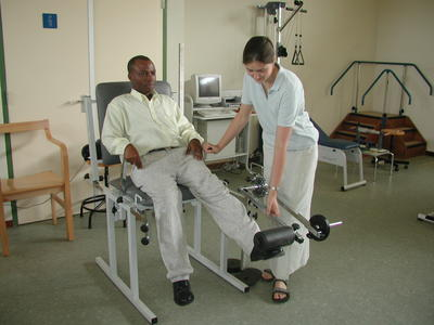 Physical therapy interns provide a much needed service in Ghana