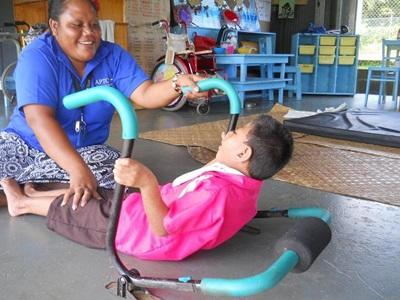 Vibrant location for professional physical therapy volunteer project in Samoa