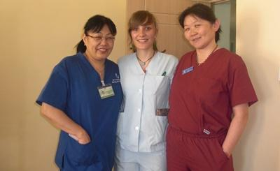 Projects Abroad professional psychiatrist volunteering at a mental health center in Mongolia, Asia.