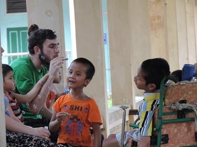 Orthophonie humanitaire en Asie