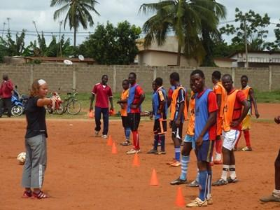 Volunteer Coaching Soccer In Togo Projects Abroad