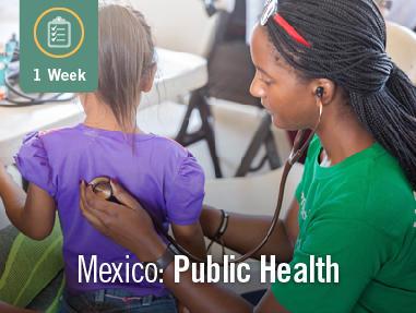 Public Health in Mexico (1 Week)