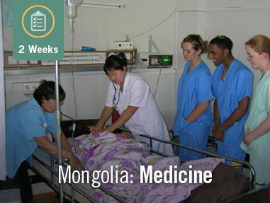 Medicine in Mongolia (2 Weeks)