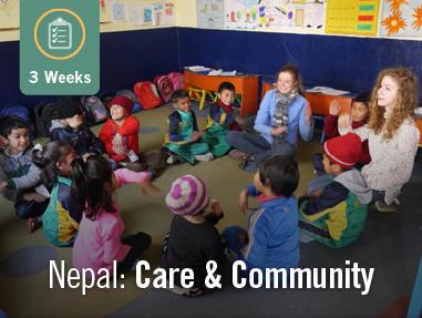 Care & Community in Nepal (3 Weeks)
